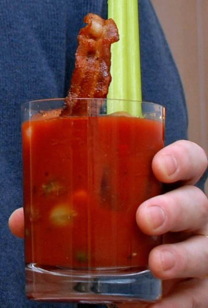 Bacon bloody mary recipe at Bensa International