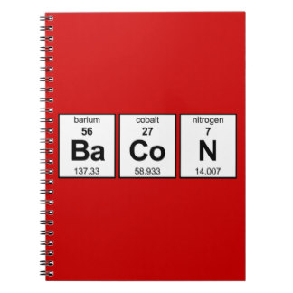 Bacon notebook