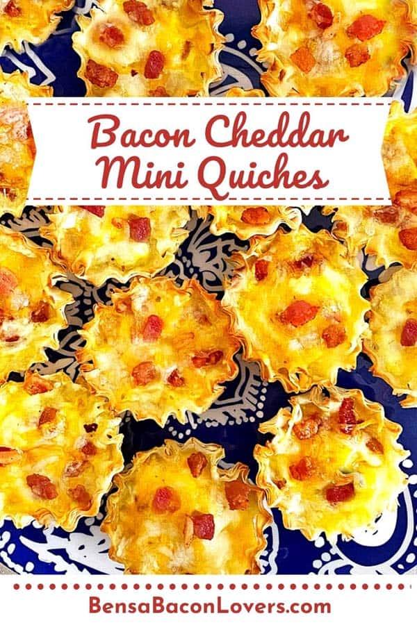 Bacon Cheddar Mini Quiches