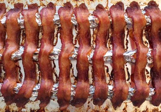 baked bacon | Bensa Bacon Lovers Blog