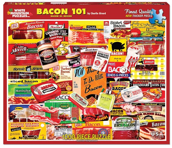 bacon jigsaw puzzle