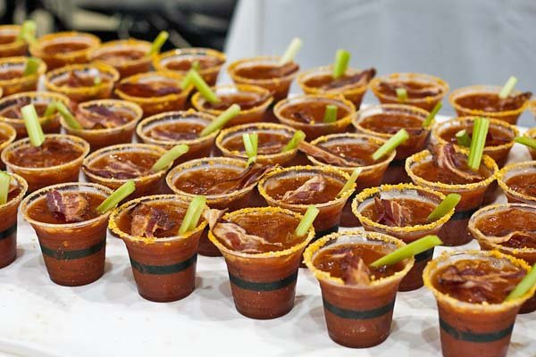 Baby bloody Marys