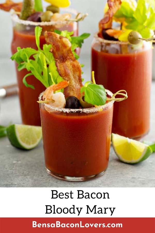Bacon Bloody Mary cocktail