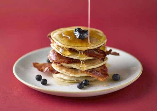 bacon fat pancakes
